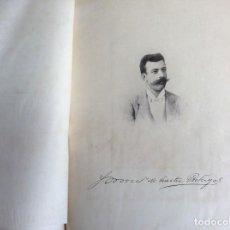 Libros antiguos: POEMA DA SAUDADE, HOMENAJE DEL AUTOR A LA MEMORIA DE... POR ERNESTO VIANNA. 1896. FIRMADO. MUY RARO.. Lote 194525076