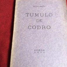 Libros antiguos: TUMBA DE CÓDRO, POR SIDÓNIO MIGUEL, 1935 - POESÍA. ENVIO GRÁTIS.. Lote 194543436