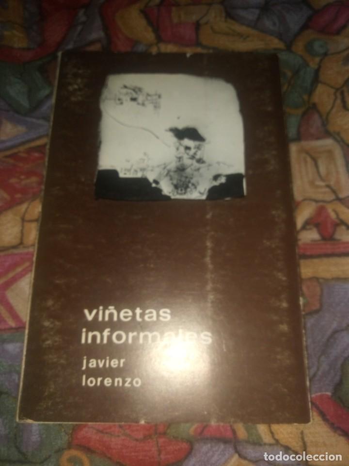 VIÑETAS INFORMARLES - JAVIER LORENZO - EDITA RADIO ALICANTE SER AÑO 1975 (Libros antiguos (hasta 1936), raros y curiosos - Literatura - Poesía)
