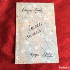 Libros antiguos: CAMPOS LIMA. ENSAIOS LITERARIOS ( PROSA E VERSO ), 1897. MUY ESCASO. ENVIO GRÁTIS.. Lote 194608700