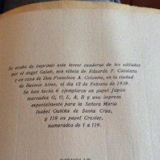 Libros antiguos: NARANJA EN FUGA ABEL SANTA CRUZ. Lote 194746767