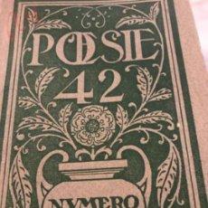 Libros antiguos: POESIA. Lote 194746857