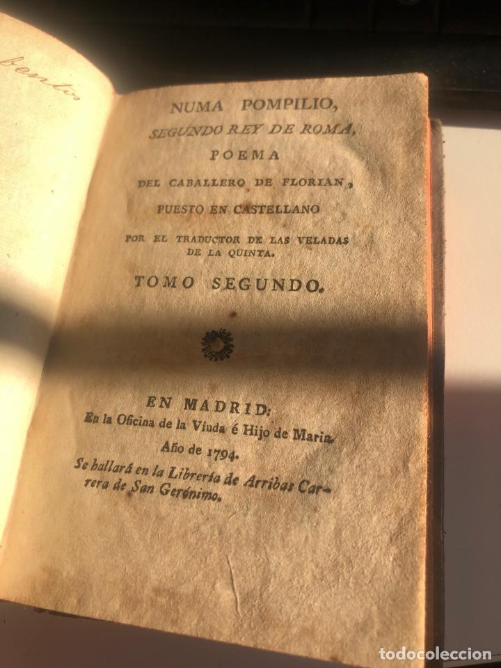 Libros antiguos: Numa Pompilio, segundo rey de roma - Foto 5 - 194861372