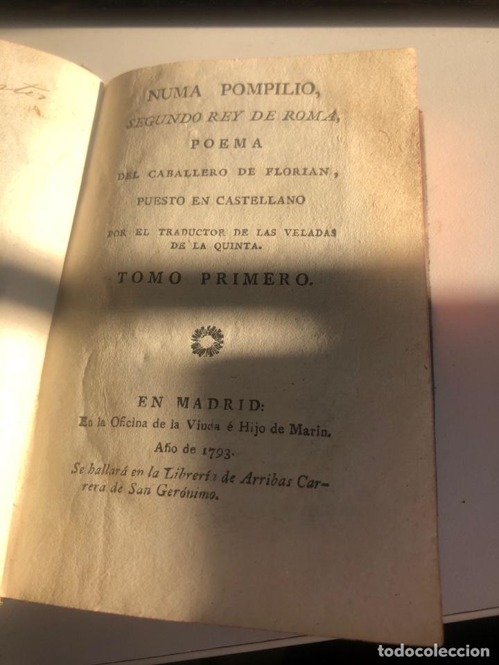 Libros antiguos: Numa Pompilio, segundo rey de roma - Foto 8 - 194861372