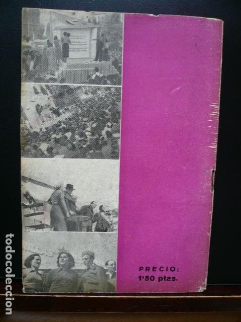 Libros antiguos: GUERRA CIVIL. UN TEATRO DE GUERRA. BARCELONA EDITORIAL NUESTRO PUEBLO 1938. MAURICIO AMSTER. - Foto 4 - 194873760