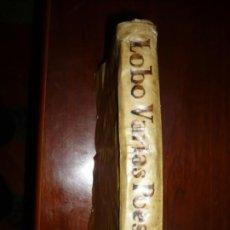 Libros antiguos: VARIAS POESIAS Y ENTRE ELLAS MUCHAS DE EUGENIO GERARDO LOBO 1758 MADRID TOMO SEGUNDO . Lote 194978032