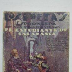 Libros antiguos: LOS POETAS - ESPRONCEDA, SUS MEJORES VERSOS, Nº 34, AÑO 1929. Lote 195044352
