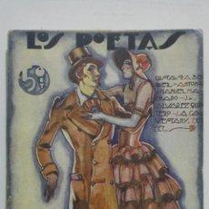 Libros antiguos: LOS POETAS - ANTOLOGIA DE POETAS SEVILLANOS, Nº 35, AÑO 1929. Lote 195044603