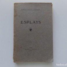 Libros antiguos: LIBRERIA GHOTICA. MARIAN CALLÍS Y COLLELL. ESPLAYS. VICH.1903.PRIMERA EDICIÓN.. Lote 195213836