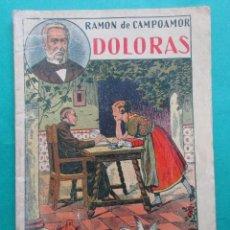 Libros antiguos: CANTARES Y HUMORADAS. CAMPOAMOR. JOYAS DE LA LITERATURA UNIVERSAL. ED. GATO NEGRO. CIRCA 1920.32 PÁG. Lote 195456428