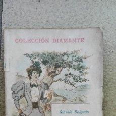 Libros antiguos: LLUVIA MENUDA. AUTOR: SINESIO DELGADO. Lote 195533698