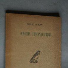 Libri antichi: AMOR PROMETIDO. EUGENIO DE NORA. 1946. Lote 197812452