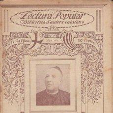 Livres anciens: Nº 164 JOAN SEGURA - DEL NATURAL ( ILUSTRACIO CATALANA). Lote 197928970