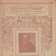Libri antichi: Nº 259 RAMON MIQUEL Y PLANAS - DIALECHS ( ILUSTRACIO CATALANA). Lote 197932942