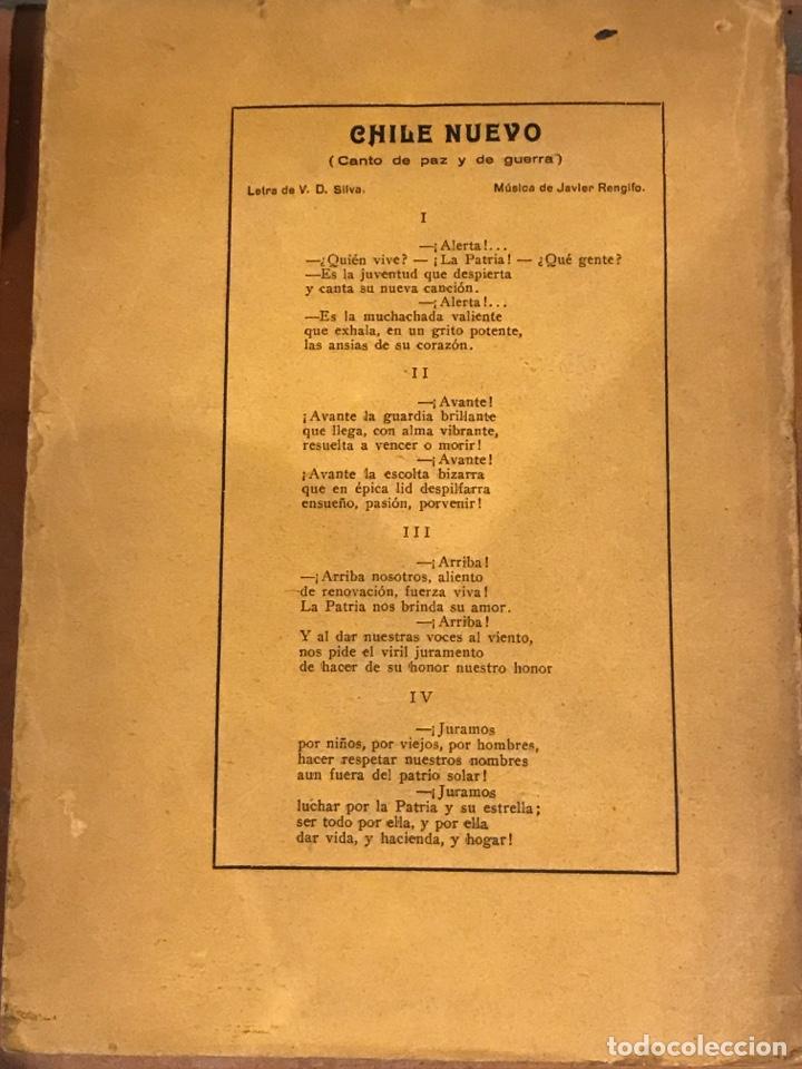 Libros antiguos: Toque de Diana el alma de Chile en la lira de sus bardos - Foto 2 - 198513817