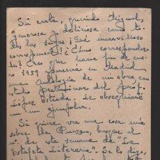 Libros antiguos: RAFAEL LEFFON, POETA SEVILLANO DE LA GENERACION DEL 27,-POSTAL CON FIRMA ORIGINAL.- VER FOTOS . Lote 199976583