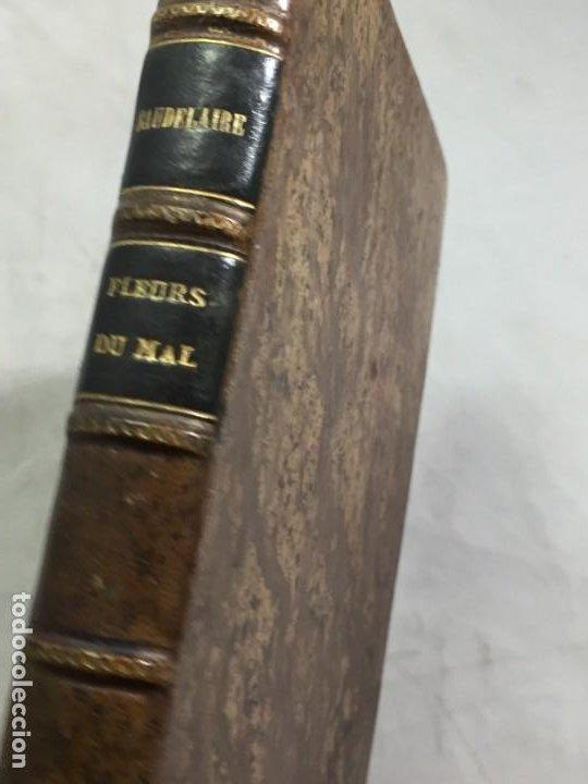 Libros antiguos: LES FLEURS DU MAL ET POÉSIES DIVERSES. Introduction et notes par Georges Roth. Cahrles Baudelaire - Foto 2 - 229622250