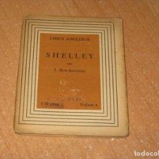 Libros antiguos: SHELLEY. Lote 200860588