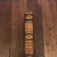 Libros antiguos: POESÍAS POR ALEXANDRE HERCULANO. LISBOA, 1850. PRIMERA EDICIÓN. Lote 202428561