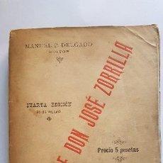 Libros antiguos: POESIAS DE DON JOSE ZORRILLA - 1894. Lote 202991135