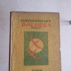 """Libros antiguos: BALART: ''DOLORES"""" (1928). Lote 203556043"""