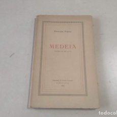 Libros antiguos: MEDEIA - FRANCESC PUJOLS - DEDICAT PER L'AUTOR. Lote 203806612
