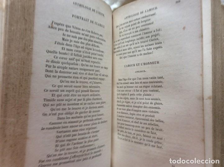 Libros antiguos: ANTOLOGÍA DEL AMOR - EXTRACTO DE POETAS FRANCESES - POR P. M. QUITARD, 1862. MUY ESCASO - Foto 9 - 204232278