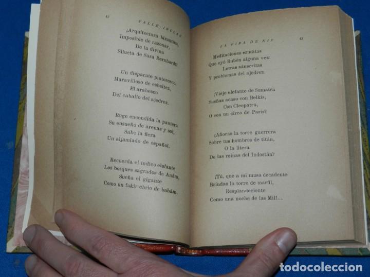 Libros antiguos: (MLIT) RAMÓN DEL VALLE INCLÁN . LA PIPA DE KIF, MADRID MCMXIX, 1 EDC - Foto 3 - 204305538