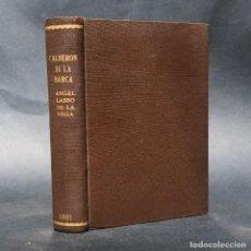 Libros antiguos: 1881 - CALDERON DE LA BARCA - ESTUDIO DE LAS OBRAS DE ESTE INSIGNE POETA - ÁNGEL LASSO DE LA VEGA. Lote 204441768
