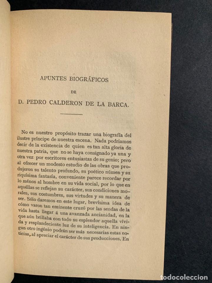 Libros antiguos: 1881 - Calderon de la Barca - Estudio de las obras de este insigne poeta - Ángel Lasso de la Vega - Foto 3 - 204441768