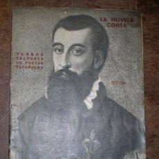 Libros antiguos: VERSOS CELEBRES DE POETAS ESPAÑOLES ANTERIORES Y DEL SIGLO XV. LA NOVELA CORTA Nº 263. Lote 39653981