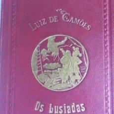 Libros antiguos: OS LUSIADAS DE LUIZ DE CAMÕES. POR FRANCISCO GOMES DE AMORIM, 1889. 1.ª EDICIÓN.. Lote 205296003
