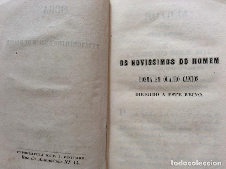 Libros antiguos: Obras de D. Francisco Child Rolim de Moura, 1853. Muy escaso - Foto 4 - 205312788