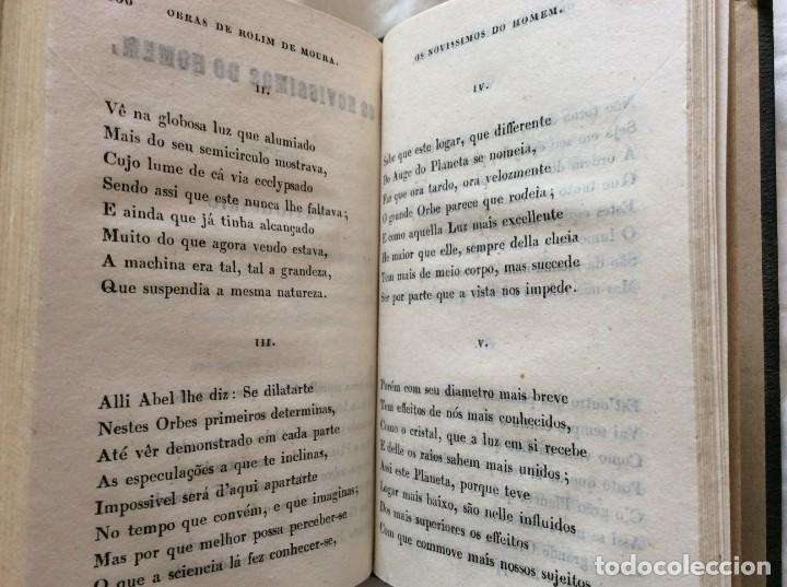 Libros antiguos: Obras de D. Francisco Child Rolim de Moura, 1853. Muy escaso - Foto 14 - 205312788