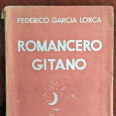 Livros antigos: AÑO 1935: FEDERICO GARCÍA LORCA: ROMANCERO GITANO.. Lote 205316856
