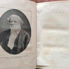 Libros antiguos: POEMAS DE ROBERT BROWNING CON UNA INTRODUCCIÓN DE OSCAR BROWNING BROWNING, 1897. MUY RARO. Lote 205612115