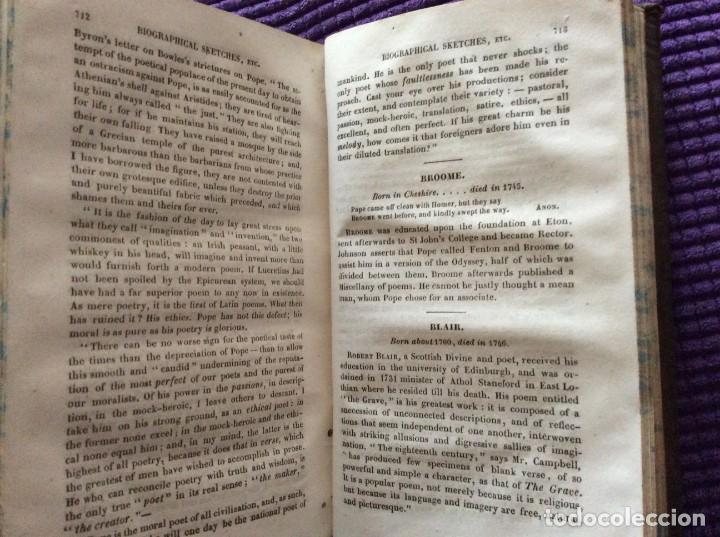 Libros antiguos: Lecciones de literatura inglesa antigua y moderna, precedidas ...por D. O´ Sulllivan, 183? - Foto 7 - 205612518