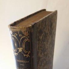 Libros antiguos: 1852 - JOSÉ ZORRILLA - GRANADA. POEMA ORIENTAL - TOMO II, 1ª ED.. Lote 205830496