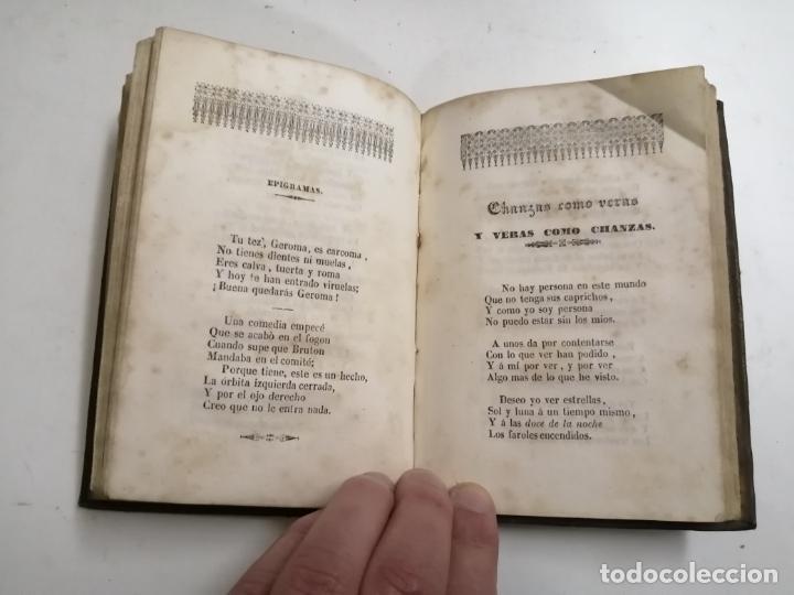 Libros antiguos: Poesias jocosas y satíricas. J. Martinez Villergas. 1842 Madrid. Im.: Plazuela de S. Miguel - Foto 5 - 206359161