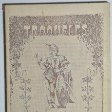 Libros antiguos: TROQUELES. J. GALAN HERNANDEZ. 1929.. Lote 206762725