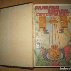 Libros antiguos: PARNASO ESPAÑOL CONTEMPORÁNEO. JOSE BRISSA. 1914. Lote 207748880