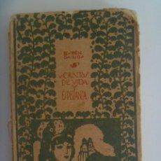 Libros antiguos: CANTOS DE VIDA Y ESPERANZA, DE RUBEN DARIO . ED. MUNDO LATINO, MADRID PRINCIPIOS DE SIGLO. ILUSTRADO. Lote 208037242