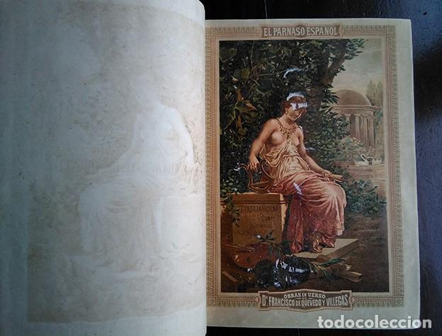 Libros antiguos: Francisco de Quevedo · Obras Festivas, Satíricas y Serias. Tomo II. Valencia, 1882 - Foto 2 - 208147670
