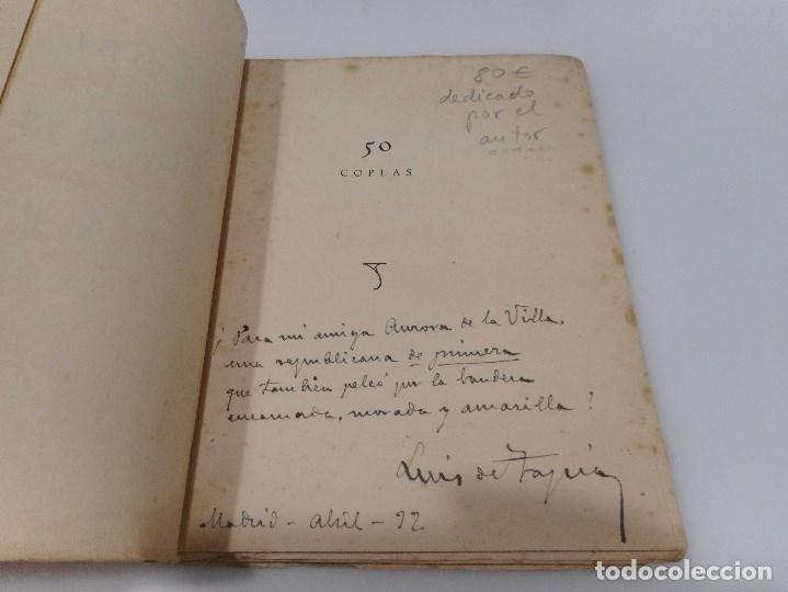 Libros antiguos: LUIS DE TAPIA 50 Coplas de Luis de Tapia Q1145WAM - Foto 2 - 208240502