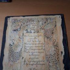 Libros antiguos: R. BLANCO Y CARO. POEMA MANUSCRITO.. Lote 209157682