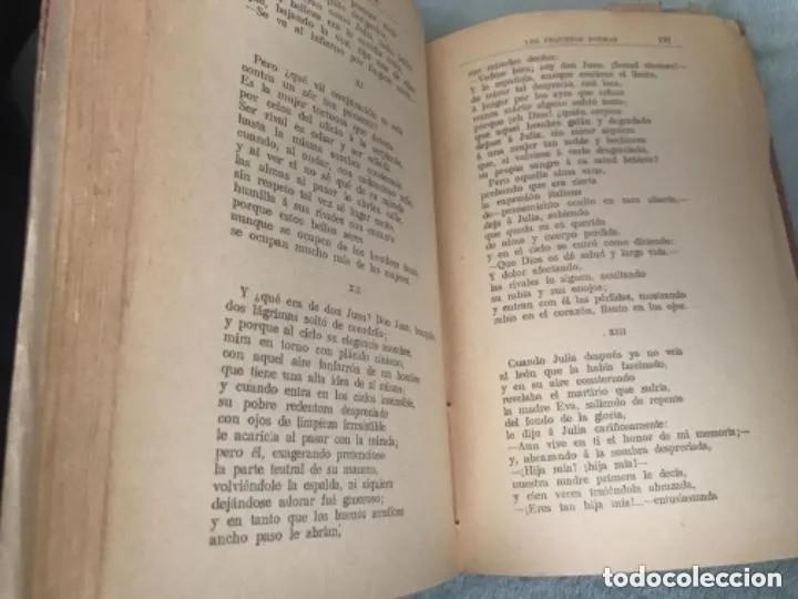 Libros antiguos: ANTIGUO LIBRO LOS PEQUEÑOS POEMAS RAMÓN CAMPOAMOR 1905 - Foto 3 - 209181052
