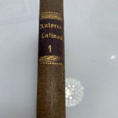 Libros antiguos: NUEVA COLECCIÓN DE AUTORES SELECTOS LATINOS. Lote 210407551