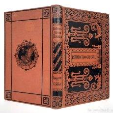 Livres anciens: 1885 - ROMANCERO GENERAL - ROMANCES MORISCOS, CABALLERESCOS, HISTÓRICOS, AMATORIOS - TELA MODERNISTA. Lote 211589866