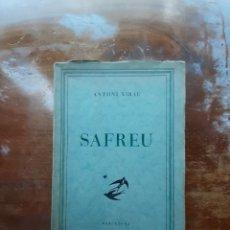 Libros antiguos: SAFREU ANTONI XIRAU. Lote 211730145