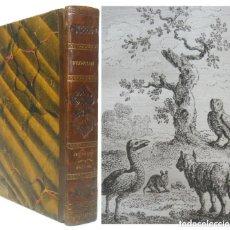 Livres anciens: 1830 - LAS FÁBULAS DE FLORIAN - ANTIGUA EDICIÓN ILUSTRADA DEL SIGLO XIX - 9 GRABADOS - ANIMALES. Lote 212152027